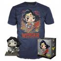Pack POP & Tee - DC Comics - Figurine Pop! & T-Shirt - Wonder Woman - Funko