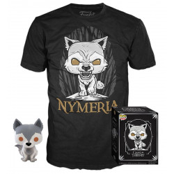 Pack POP & Tee - Game of Thrones - Figurine Pop! & T-Shirt - Nymeria - Funko