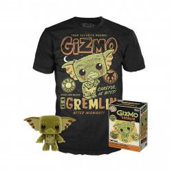 Pack POP & Tee - Gremlins - Figurine Pop! & T-Shirt - Gizmo - Funko
