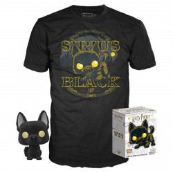 Pack POP & Tee - Harry Potter - Figurine Pop! & T-Shirt - Sirius Black - Funko