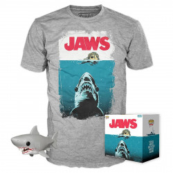 Pack POP & Tee - Les Dents de la Mer - Figurine Pop! & T-Shirt - Jaws - Funko