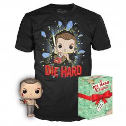 Pack POP & Tee - Die Hard - Figurine Pop! & T-Shirt - John McClane - Funko