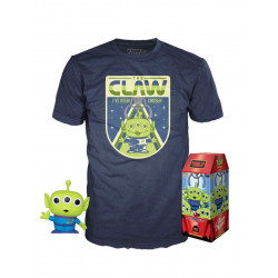 Pack POP & Tee - Toy Story - Figurine Pop! & T-Shirt - Alien The Claw - Funko