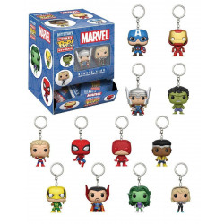 Porte-clé - Pocket Pop! Keychain - Marvel Comics - Aléatoire - Funko