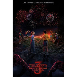 Poster - Stranger Things - One Summer - 61 x 91 cm - Pyramid International