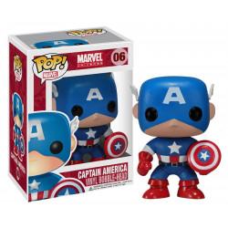 Figurine - Pop! Marvel - Captain America - Vinyl Figure - Funko