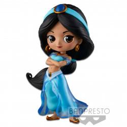 Figurine - Disney - Q Posket - Princesse Style - Jasmine Normal Color Ver. - Banpresto