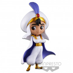 Figurine - Disney - Q Posket - Prince Style - Aladdin Pastel Color Ver. - Banpresto