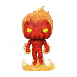 Figurine - Pop! Marvel - Fantastic Four - Human Torch - Vinyl - Funko