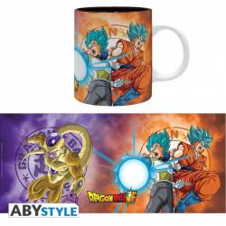 Mug / Tasse - Dragon Ball Super - Saiyans vs Freezer - 320 ml - ABYstyle