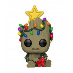 Figurine - Pop! Marvel - Holiday Groot - Vinyl - Funko