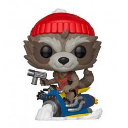 Figurine - Pop! Marvel - Holiday Rocket - Vinyl - Funko