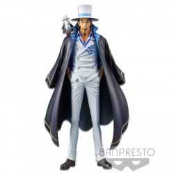 Figurine - One Piece - Stampede The Grandline Men vol. 3 - Rob Lucci (B) - Banpresto