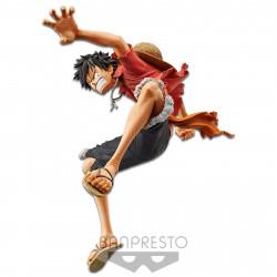 Figurine - One Piece - King of Artist - Stampede Monkey D. Luffy - Banpresto