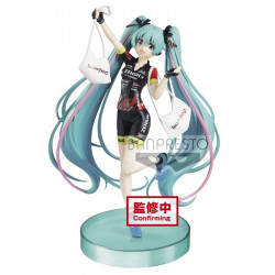 Figurine - Vocaloid - Hatsune Miku Racing 2019 Team UKYO - Banpresto