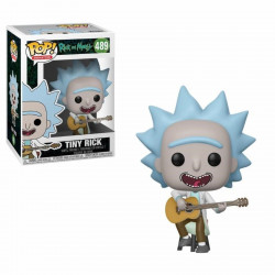 Figurine - Pop! Animation - Rick and Morty - Tiny Rick with Guitar - Vinyl - Funko