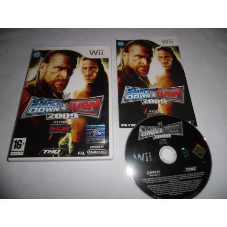Jeu Wii - Smackdown vs Raw 2009