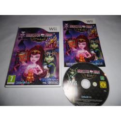 Jeu Wii - Monster High 13 Souhaits