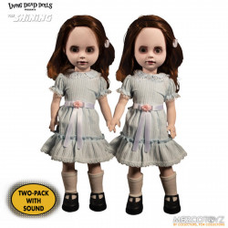 Figurine - The Shining - Living Dead Dolls - Talking Grady Twins - Mezco Toys