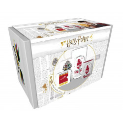 Coffret - Harry Potter - Quidditch - Verre + Mug + 2 Sous-Verres - GB Eye