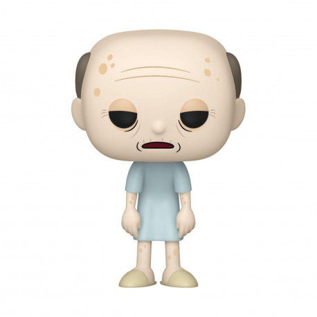 Figurine - Pop! Animation - Rick and Morty - Morty Vieux - N° 693 - Funko
