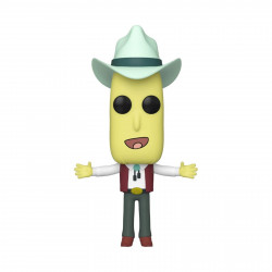 Figurine - Pop! Animation - Rick and Morty - Mr Poopybutthole Auctioneer - N° 691 - Funko