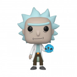 Figurine - Pop! Animation - Rick and Morty - Rick with Crystals - N° 692 - Funko