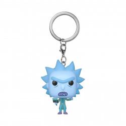 Porte-clé - Pocket Pop! Keychain - Rick and Morty - Hologram Rick Clone - Funko