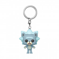 Porte-clé - Pocket Pop! Keychain - Rick and Morty - Teddy Rick - Funko