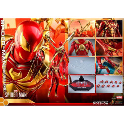 Figurine - Marvel's Spider-Man - Masterpiece 1/6 Iron Spider Armor 30 cm - Hot Toys