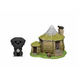 Figurine - Pop! Town - Harry Potter - Hagrid's Hut with Fang - N° 08 - Funko