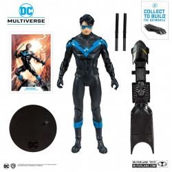 Figurine - DC Comics - Rebirth Nightwing - McFarlane Toys