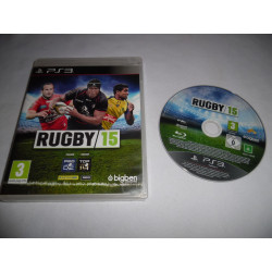 Jeu Playstation 3 - Rugby 15 - PS3