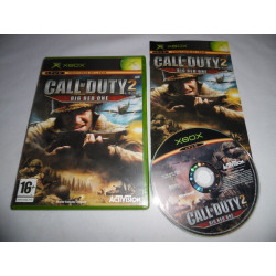Jeu Xbox - Call of Duty 2 : Big Red One
