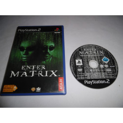 Jeu Playstation 2 - Enter the Matrix - PS2