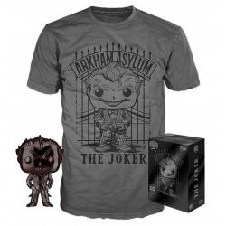 Pack POP & Tee - DC Comics - Figurine Pop! & T-Shirt - The Joker - Funko