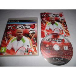 Jeu Playstation 3 - Top Spin 4 - PS3