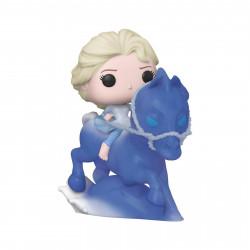 Figurine - Pop! Rides - Disney La Reine des Neiges 2 - Elsa riding Nokk - N° 74 - Funko