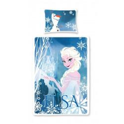 Parure de lit - Disney - La Reine des Neiges - Elsa - 135 x 200 cm