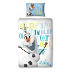 Parure de lit - Disney - La Reine des Neiges - Olaf - 135 x 200 cm