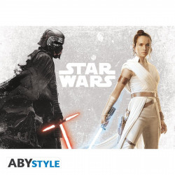 Poster - Star Wars - Kylo & Rey - 91.5 x 61 cm - ABYstyle