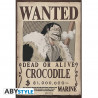 Poster - One Piece - Wanted Crocodile - 52 x 35 cm - ABYstyle
