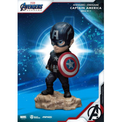 Figurine - Marvel - Mini Egg Attack - Avengers Endgame - Captain America - Beast Kingdom Toys