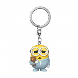 Porte-clé - Pocket Pop! Keychain - Les Minions - Sleepy Bob - Funko