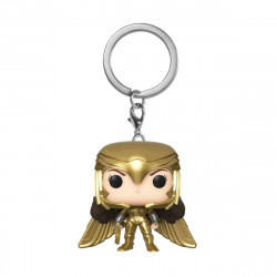 Porte-clé - Pocket Pop! Keychain - Wonder Woman 1984 - Golden Armor - Funko