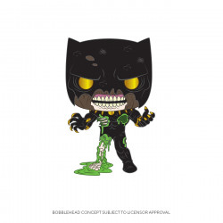 Figurine - Pop! Marvel - Zombie Black Panther - Vinyl - Funko