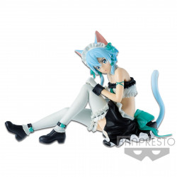 Figurine - Sword Art Online - Memory EXQ - Sinon Maid ver. - Banpresto
