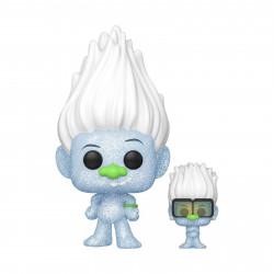 Figurine - Pop! Movies - Trolls World Tour - Guy Diamond with Tiny - N° 882 - Funko