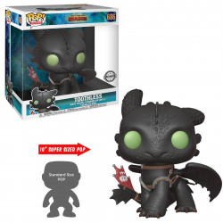 Figurine - Pop! Animation - Dragons 3 - Toothless 25 cm - N° 686 - Funko