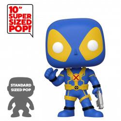 Figurine - Pop! Marvel - Deadpool Thumb Up Blue 25 cm - N° 548 - Funko